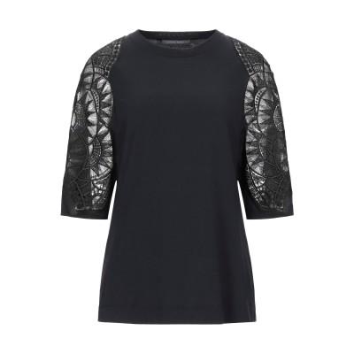 アルベルタ フェレッティ ALBERTA FERRETTI T シャツ ブラック 40 コットン 100% / ナイロン T シャツ