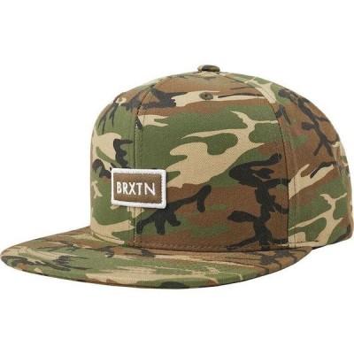 Brixton Rift II Mp Snapback Hat Cap Camo キャップ 送料無料
