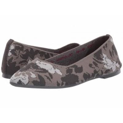 SKECHERS スケッチャーズ レディース 女性用 シューズ 靴 フラット Cleo Camofloral Charcoal/Grey【送料無料】
