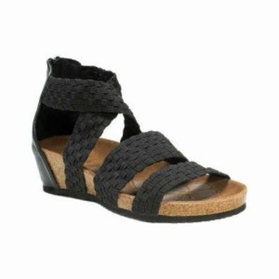MUK LUKS ムクルクス ファッション サンダル MUK LUKS Womens  Elle Wedge Sandal