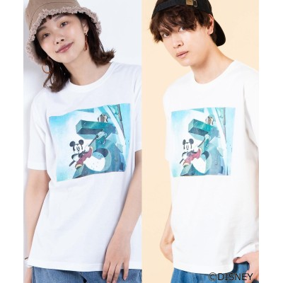【WEGO公式】別注ディズニーTシャツ 半袖  WE20SM04-M1960