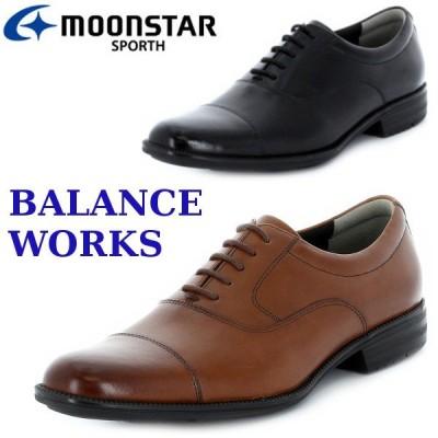 MOONSTAR バランスワークス スポルス SPORTH SPH4601  ブラウン ブラック