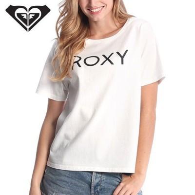 ROXY ロキシー レディース半袖Tシャツ SIMPLE LOGO-WHT RST162023 正規品