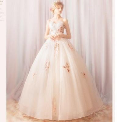 ウェディングドレス エンパイア  二次会ドレス シンプルエンパイアドレス ウェディングドレス二次会ドレス 花嫁ドレススワニーエンパイアドレス