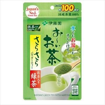 伊藤園 おーいお茶 さらさら抹茶入り緑茶 80g×6入