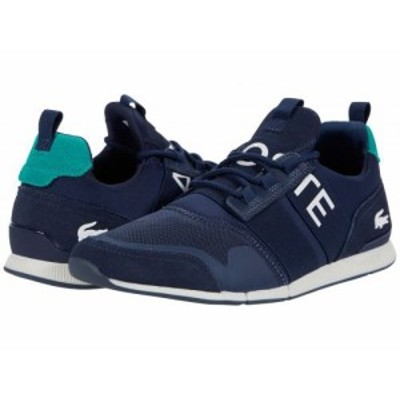 Lacoste ラコステ メンズ 男性用 シューズ 靴 スニーカー 運動靴 Menerva Elite 0120 1 Navy/Green【送料無料】