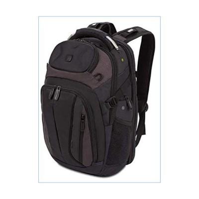 SWISSGEAR SCANSMART TSA School Work and Travel Men's and Women's/Laptop Backpack - Black and Heather Gray並行輸入品