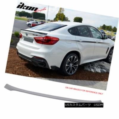 フィット16-17 BMW F16 X6 F86 X6Mパフォーマンススタイルトランクスポイラーウイング未塗装ABS