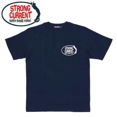 ストロングカレント メンズ Tシャツ 半袖 トップス サーフT ネイビー STRONG CURRENT 213SC1ST283