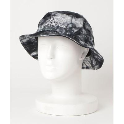 A BAG OF CHIPS / FRUITS OF THE LOOM/フルーツオブザルーム 後染めコットンロゴバケットハット WOMEN 帽子 > ハット