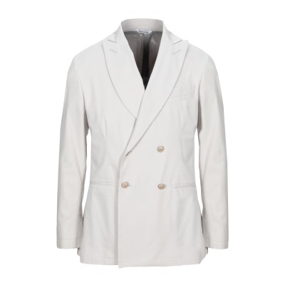 YOON テーラードジャケット ライトグレー 44 コットン 97% / ポリウレタン 3% テーラードジャケット