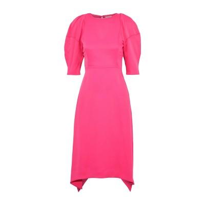 KHAITE 7分丈ワンピース・ドレス フューシャ 12 アセテート 83% / レーヨン 17% 7分丈ワンピース・ドレス