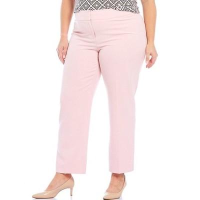 カスパール レディース カジュアルパンツ ボトムス Plus Size Stretch Crepe Slim Pants