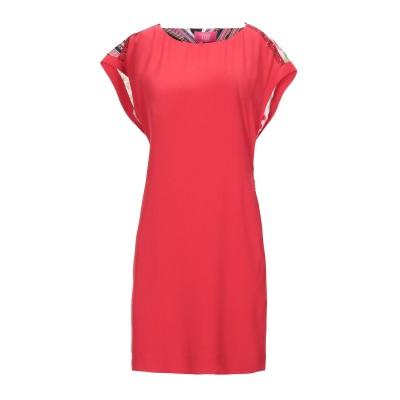 VDP CLUB ミニワンピース&ドレス レッド 44 アセテート 69% / シルク 31% / レーヨン ミニワンピース&ドレス