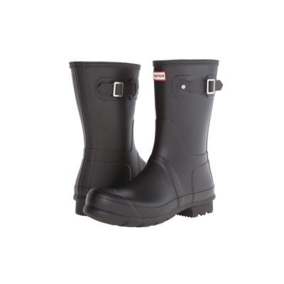 ハンター Hunter メンズ レインシューズ・長靴 シューズ・靴 Original Short Rain Boots Black