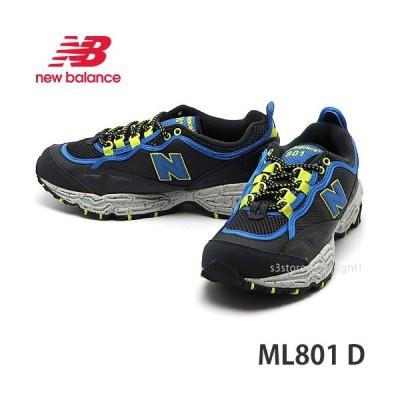 ニューバランス NEWBALANCE ML801 D スニーカー シューズ 靴 トレイルラン ランニング メンズ ダッドシューズ カラー:DARK GRAY