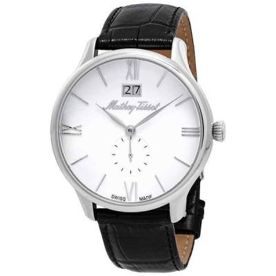 マセイティソ 腕時計 Mathey-Tissot Edmond クォーツ White ホワイト Dial メンズ Watch H1886QAI