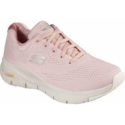 スケッチャーズ レディース スニーカー シューズ Women's Skechers Arch Fit Sunny Outlook Sneaker Light Pink