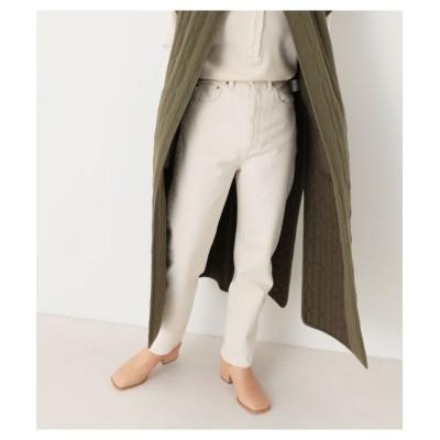 【ブラックバイマウジー】 DRIP straight color pants レディース O/WHT 24inch BLACK BY MOUSSY