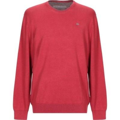 ナパピリ NAPAPIJRI メンズ ニット・セーター トップス Sweater Red