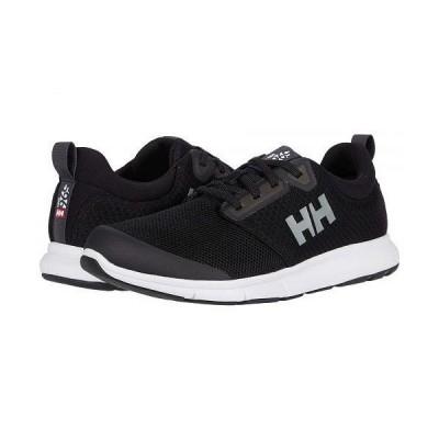 Helly Hansen ヘリーハンセン メンズ 男性用 シューズ 靴 スニーカー 運動靴 Feathering - Black/White