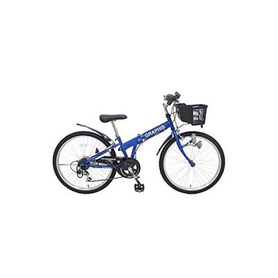 My Pallas(マイパラス) GRAPHIS (グラフィス) 子供用自転車24 6SP GR-24 カラー/ブルー