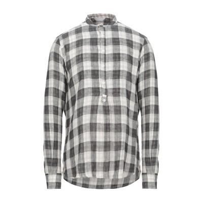SSEINSE シャツ 鉛色 S コットン 70% / 麻 30% シャツ