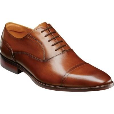 フローシャイム Florsheim メンズ 革靴・ビジネスシューズ シューズ・靴 Sorrento Cap Toe Oxford Cognac Smooth
