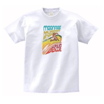 デヴィッド・ボウイ 音楽・ロック・シネマ Tシャツ