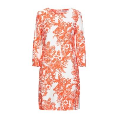 ハリス・ワーフ・ロンドン HARRIS WHARF LONDON ミニワンピース&ドレス オレンジ 42 95% レーヨン 5% ポリウレタン ミニ