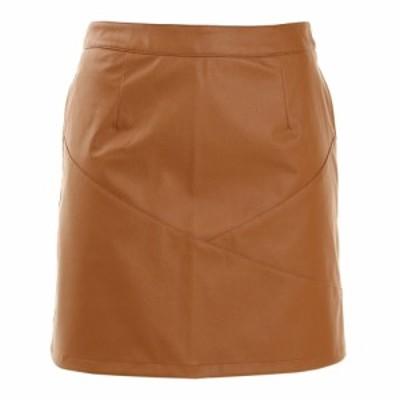 ROSASENL切り替え合成皮革スカート 048-73041-041(Lady's)