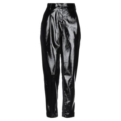 リュー ジョー LIU •JO パンツ ブラック 40 ポリエステル 100% / コットン / ナイロン / ポリウレタン / ポリウレタン樹脂