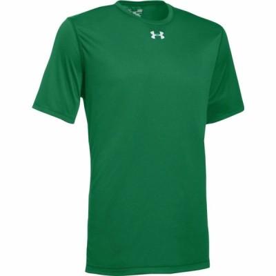 アンダーアーマー メンズ Tシャツ Under Armour Team Locker 2.0 S/S T-Shirt - Team Kelly Green/Metallic Silver