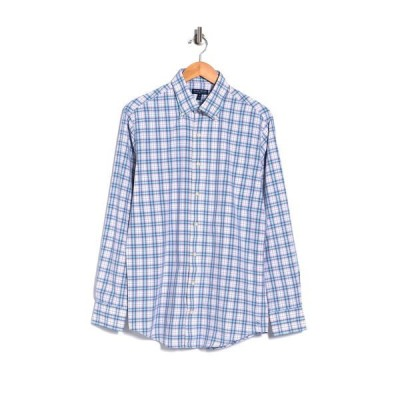 ピーター・ミラー メンズ シャツ トップス Bolden Plaid Printed Sport Fit Shirt WATERFALL