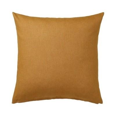 【IKEA】VIGDIS/ヴィグディス クッションカバー ダークゴールデンブラウン50x50 cm