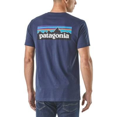 パタゴニア メンズ シャツ トップス Patagonia Men's P-6 Logo Organic T-Shirt