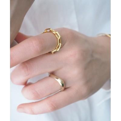 指輪 silver925 チェーン風デザインレギュラーリング