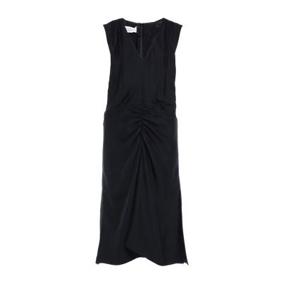 マルニ MARNI 7分丈ワンピース・ドレス ブラック 42 アセテート 88% / シルク 12% 7分丈ワンピース・ドレス