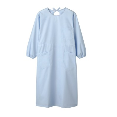 MONTBLANC 54-007 予防衣(長袖)(女性用) ナースウェア・白衣・介護ウェア