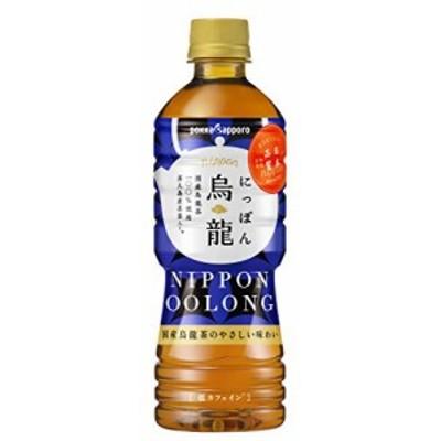 ポッカサッポロ にっぽん烏龍 525ml×24本
