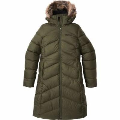 マーモット Marmot レディース ダウン・中綿ジャケット アウター Montreaux Coat Nori