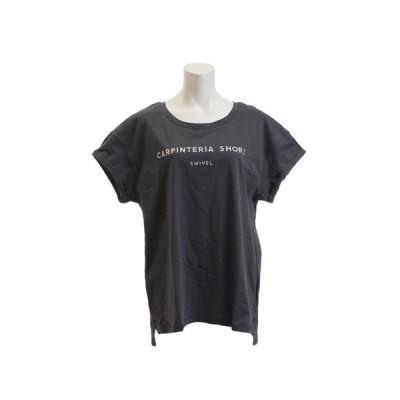 スウィベル(Swivel) Tシャツ レディース 半袖 CALIFORNIA ボックス 870SW9EG6419 GRY オンライン価格 (レディース)