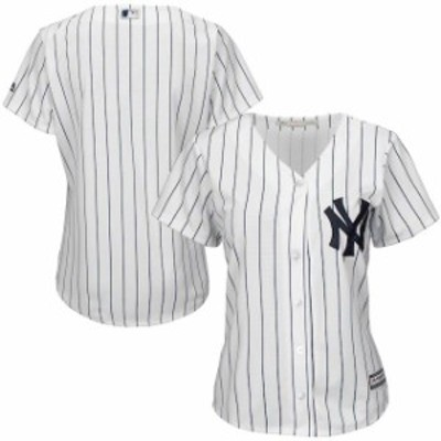 Majestic マジェスティック スポーツ用品  Majestic New York Yankees Womens White Cool Base Jersey
