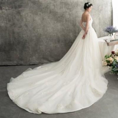 マーメイドドレス ウェディングドレス 結婚式 花嫁 ウエディングドレス ロングドレス 二次会 ブライダル バックレス 安い 披露宴 トレー