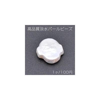 高品質淡水パールビーズ No.1 不規則型 天然素材【1ヶ】