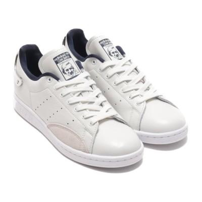 アディダス adidas スニーカー スタンスミス シルバー (FOOTWEAR WHITE/COLLEGE NAVY/SILVER METARICK) 20FW-I