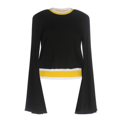 エラリー ELLERY スウェットシャツ ブラック 8 コットン 100% / ポリエステル スウェットシャツ