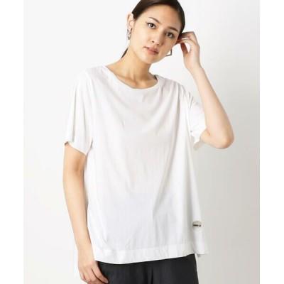 COMME CA/コムサ サイロプレミアム Tシャツ オフホワイト 9号