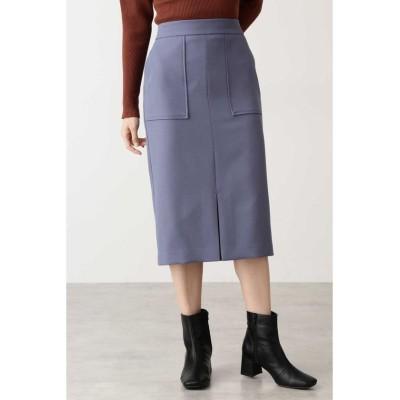 【エヌナチュラルビューティベーシック】 ポケットタイトスカート レディース スモークブルー M N.Natural Beauty Basic