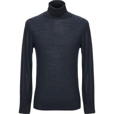 バランタイン BALLANTYNE メンズ ニット・セーター トップス turtleneck Dark blue